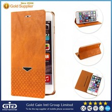 [GGIT] Hot Selling Wallet Case for iPhone 6 Plus, PC+PU Mobile Phone Cover Case for iPhone 6 Plus
