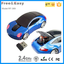 RF-369 car shape 2.4ghz usb wireless optical mouse driver