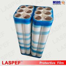 LASPEF transparent self adhesive film, self adhesive plastic film, removable static cling window film