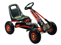 120Kg Capacity 4-Wheel Pedal Go Kart for kids
