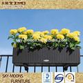 Balcón colgantes de flores olla, rota jardín colgante jardinera( p014)