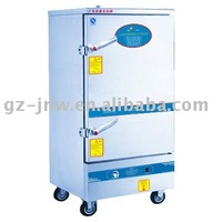 ZXY20-10 gas rice steamer with 10 containers for kitchen equipment passed ISO9001