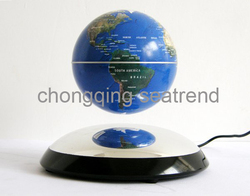Glod supplier Multcolor astronomy floating magnetic suspended globe