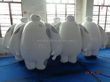 Inflatable PVC giant white model for promotion, advertising