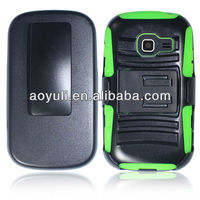 belt clip combo holster case for Samsung discover s738c,phone accessory