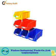 multiple colors plastic tool parts bin for things organized manufacturer