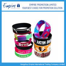 Wholesale Promotional Silicon Bracelet,Charm Sport Wrist Band,Adjustable Silicon Wristband