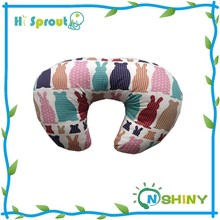 Nice Design 100% Cotton Printed Boppy Pillow