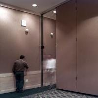 Banquet room commercial folding partition