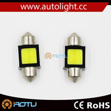 Auto festoon led bulb 12v c5w, COB festoon 31mm,36mm,39mm,41mm, auto led light /car accessories light