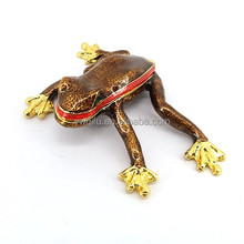 New product Metal frog garden art QF3693