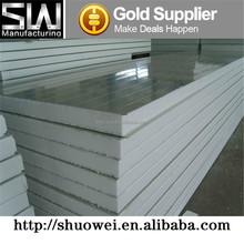 White grey heat insulation EPS sandwich panel / Polystyrene Foam Board for wall