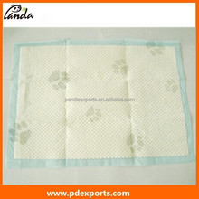 High quality, good absorption disposable pet puppy training pads, with different sizes