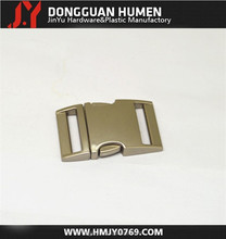 Aluminum buckle for climbing,Safety side release metal buckle