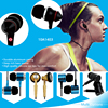 High quality silicone ear tips for max comfort stereo earphone for MP3