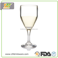 Wholesale customized unbreakable party champagne glasses