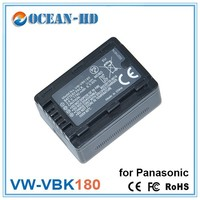 Camera battery export for Panasonic VW-VBK180 bateria para celular