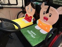 Cute Cartoon Seats Cushion with Muliti-funcation Used in Cars, Office, Chairs at Home, ect
