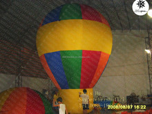 Factory price inflatable hot air ground balloon for sale
