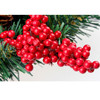 Waterproof EPS artificial plastic red berries for Christmas tree decorations