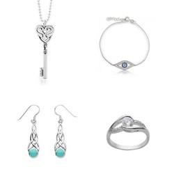 emerald & pave diamond jewelry bangle 925 Sterling Silver Jewelry