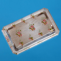 plastic sushi box with lid