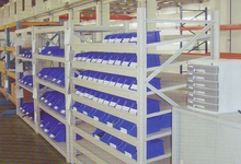 Long span steel shelving warehouse storage rack
