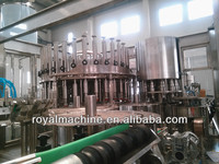 Automatic used mineral water bottle filling machine