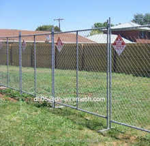 hot sale High Quality Portable Chain Link Temporary Fence Panel for construction