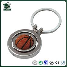 Basketball rotate key chain