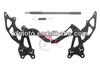 for Kawasaki Ninja 250 2008-2012 09 10 11 Foot Pegs Front set