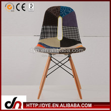 Modern Design Dsw Chair Replica With Solid Wood Eiffel Legs Cheap Dining Plastic Chair, High Quality Ikea Chair Replica