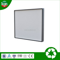 new invention h14 mini-pleat hepa filter hepa air filter