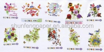 100 Wood Pulp Heat Transfer Design Paper In Sheet With