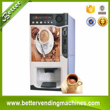 The most popular coffee vending machine/ 3 hot coffee drinks automatic coffee dispenser