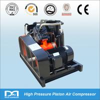 300/400bar 2M3/min oil lubricated high pressure piston reciprocationg piston type air Compressor