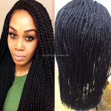 black women popular style very cheap good quality synthetic hair afro kinky twist wigs