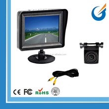 Weatherproof Rearview Backup Camera System with 3.5'' LCD Color Monitor
