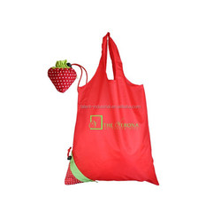 cheap nylon foldable shopping bag/hs codes nylon bag/nylon cosmetic bag