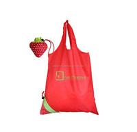 cheap nylon foldable shopping bag/hs codes nylon bag/nylon cosmetic bag