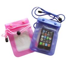 Hot-sale transparent pvc waterproof bag,earphone waterproof bag