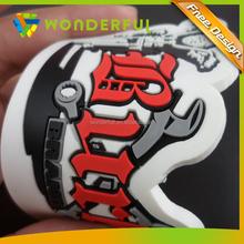 Soft Pvc Type and Rubber Magnet Composite Flexible Rubber 3D Pvc Fridge Magnet