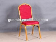 marco de metal sillas de fiesta con la tapicería