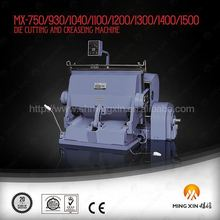 Best factory semi auto die cut machine for corrugated box