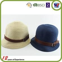 Man Summer Paper Straw Hats Fedora Hats