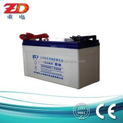 Free maintance gel batteries 12v 120Ah for solar street light