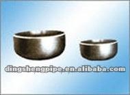 welded pipe cap dimensions