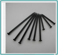 Black color concrete nails/Stainless steel nails with black