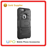 [UPO] Hot Sale Tough Rugged Armor Mobile Phone Silicon Case for iPhone 6