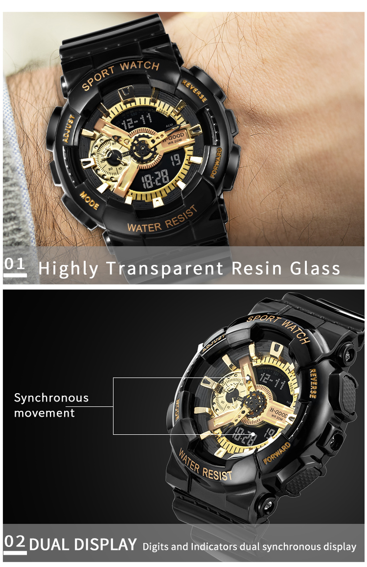 fashion men wrist watch